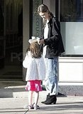 Katie and Suri left the Milk Shake Factory together.