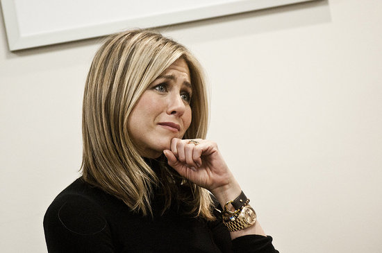 Jennifer Aniston Spends an Emotional Day With Jill Biden and Breast Cancer Survivors