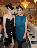 Anne Hathaway was on hand for the Art of Elysium charity event.