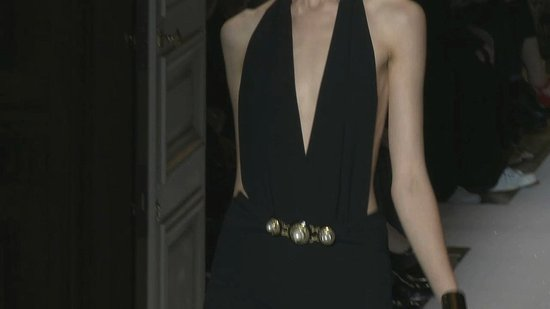 Yves Saint Laurent Spring 2012 Runway
