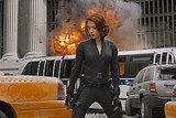Scarlett Johansson as Black Widow in The Avengers. Photo courtesy of Disney