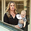 Christina Applegate on Set With Baby Sadie Pictures