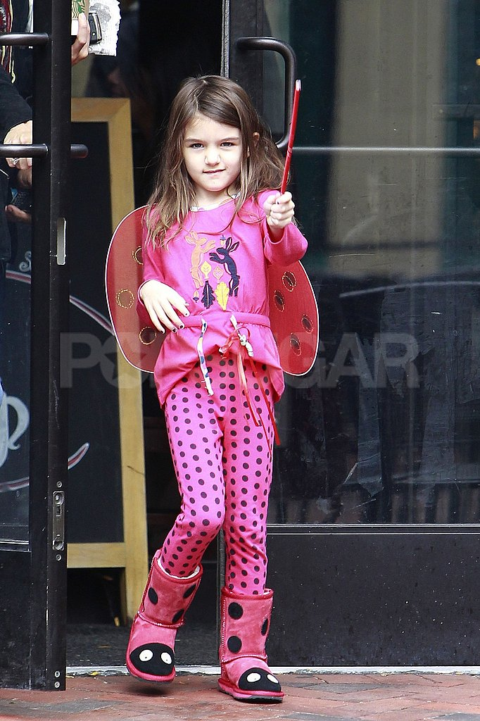 Suri Cruise waved a wand.