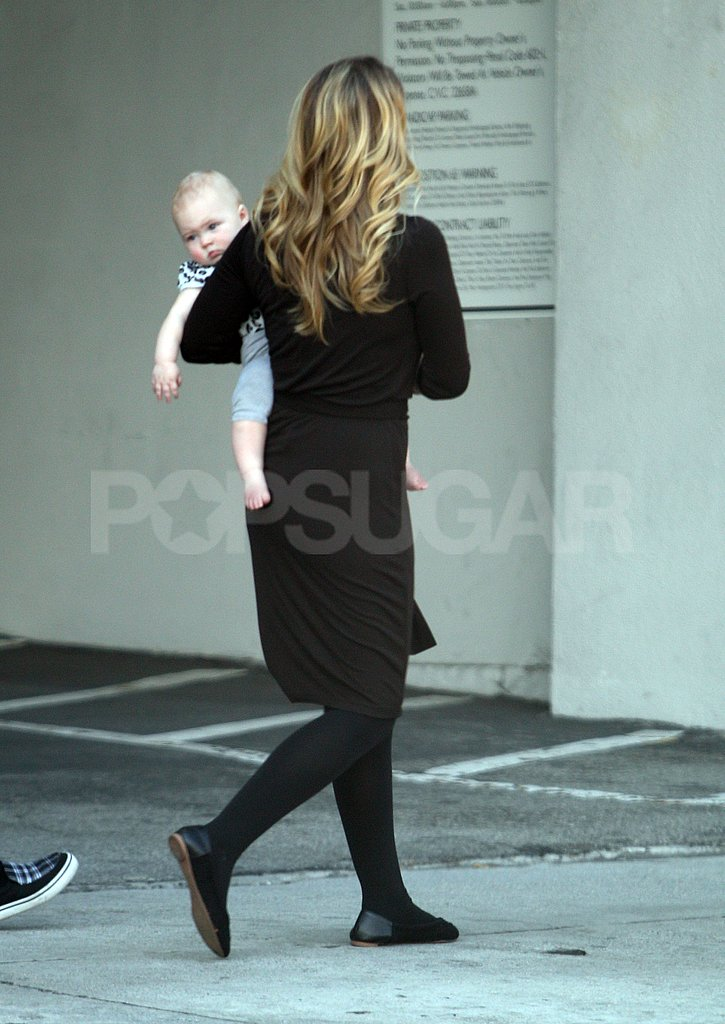Christina Applegate headed home from the set of her TV show.