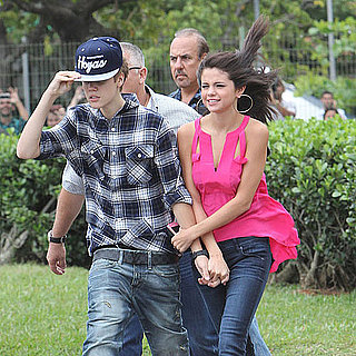 Justin Bieber and Selena Gomez Helicopter in Rio Pictures