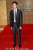 Logan Lerman at the London premiere of The Three Musketeers.