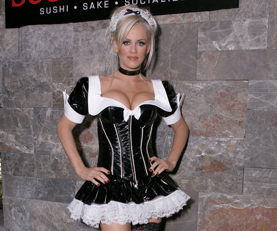 Jenny McCarthy hosted a Las Vegas Halloween party as a French maid in 2006.