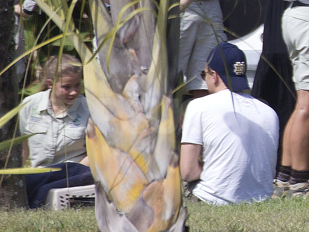 Leonardo DiCaprio learned from the staff at the Australia Zoo.