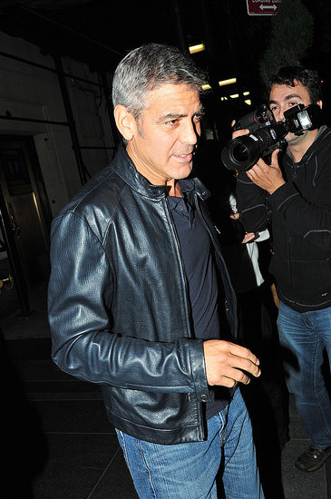 George Clooney was out and about in NYC.