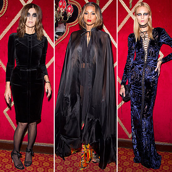 The Fashionable Supply Halloween-Worthy Inspiration at Carine Roitfeld's Irreverent Fête