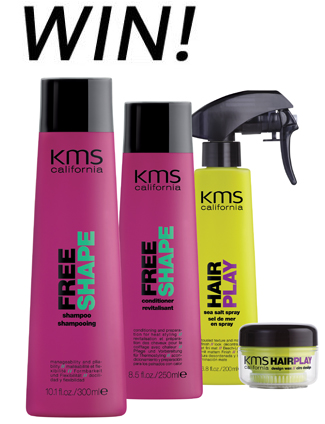 WIN FREE KMS California Haircare!