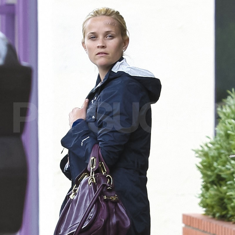 Reese Witherspoon after lunch at R+D Kitchen.