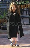 Suri Cruise walked around Pittsburg in a cape.