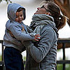 Gisele Bundchen and Benjamin Brady at a Boston Park Pictures
