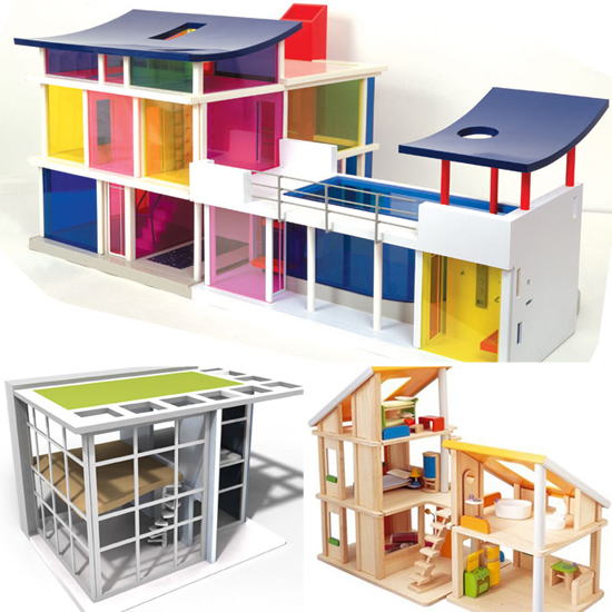 Not Your Grandma's Dollhouse: 10 Contemporary Designs For Modern Tots