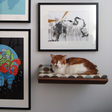 Wall-Mounted Pet Beds Are Perfect For Small Spaces