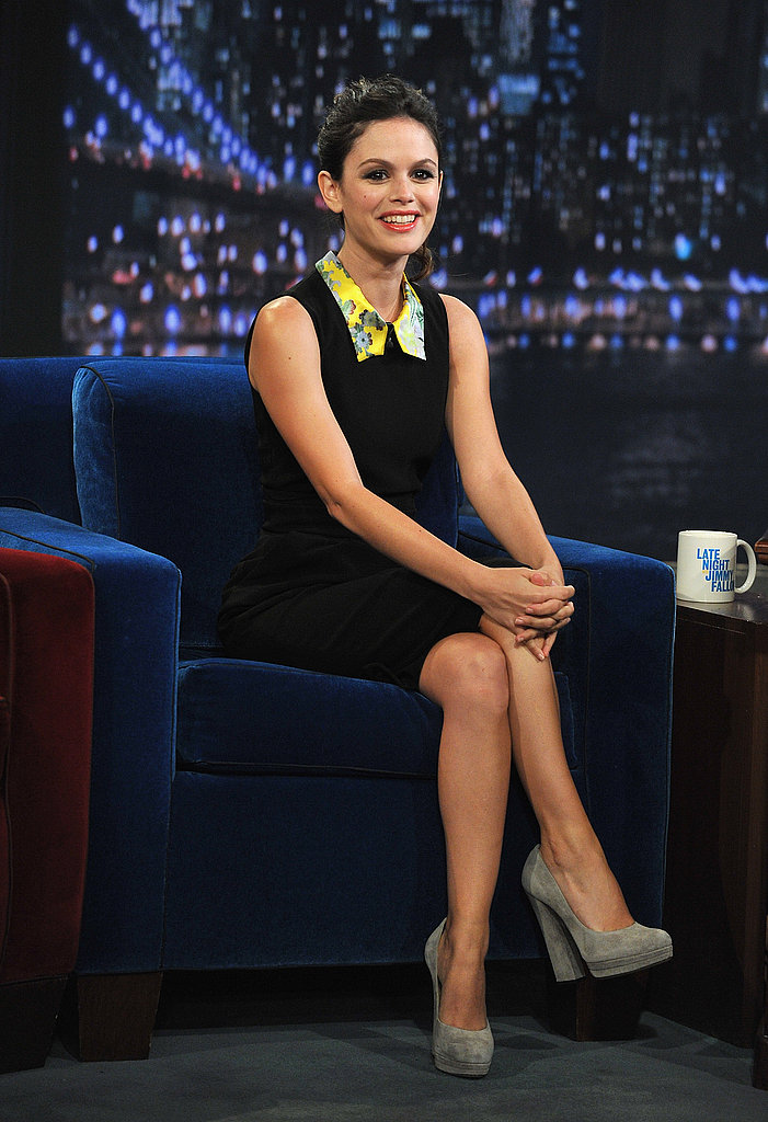 Rachel Bilson was a guest last night on Late Night With Jimmy Fallon.