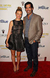 Amy Smart and husband Carter Oosterhouse at the second annual Art Mere/Art Pere Night at Smashbox West Hollywood.