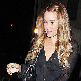 Lauren Conrad Leather Pants Pictures in LA