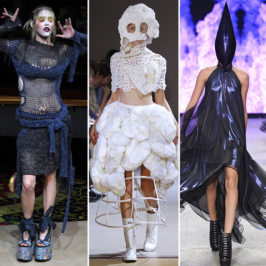 Pictures of the 20 Most Outrageous Looks from Fashion Week ...