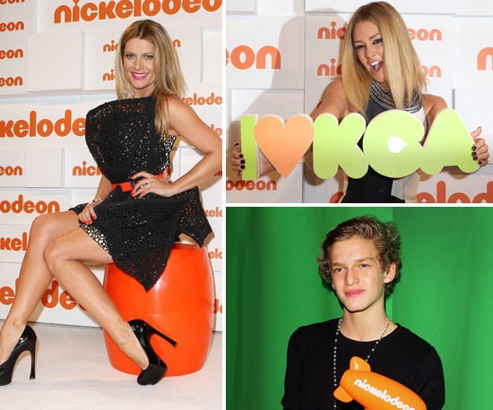 Pictures of Erin McNaught, Cody Simpson, Natalie Bassingthwaighte in Nickelodeon Kids' Choice Awards Press Room