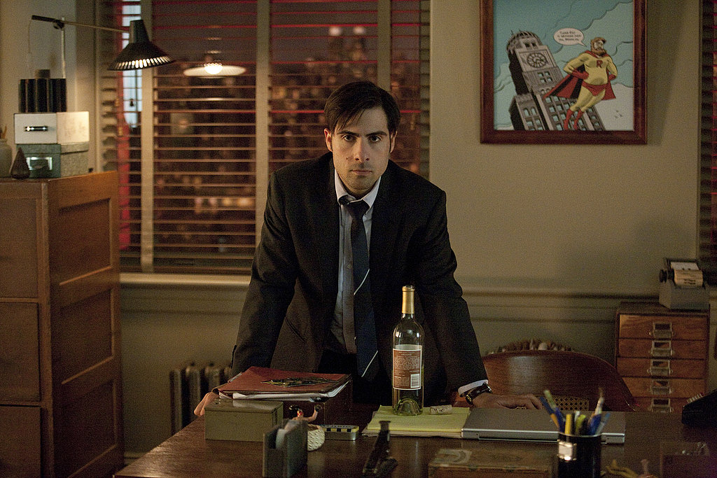 Jason Schwartzman as Jonathan Ames on Bored to Death.  Photo courtesy of HBO
