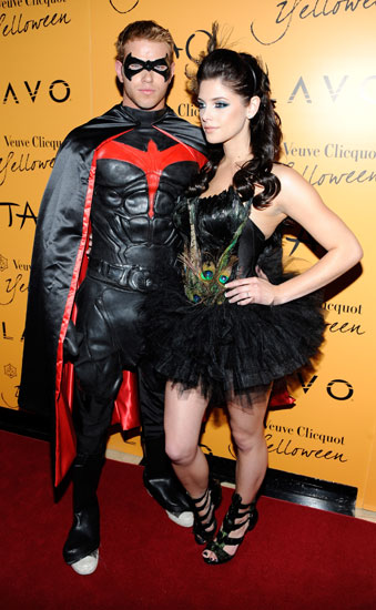 Robin Kellan Lutz passed over the Dark Knight in favor of his sidekick (the Chris O'Donnell version).