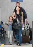 Brian Van Holt arrived in LA with Courteney Cox and Coco Arquette.