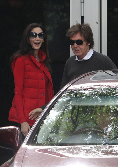 Newlyweds Paul McCartney and Nancy Shevell Head Off on Their Honeymoon!
