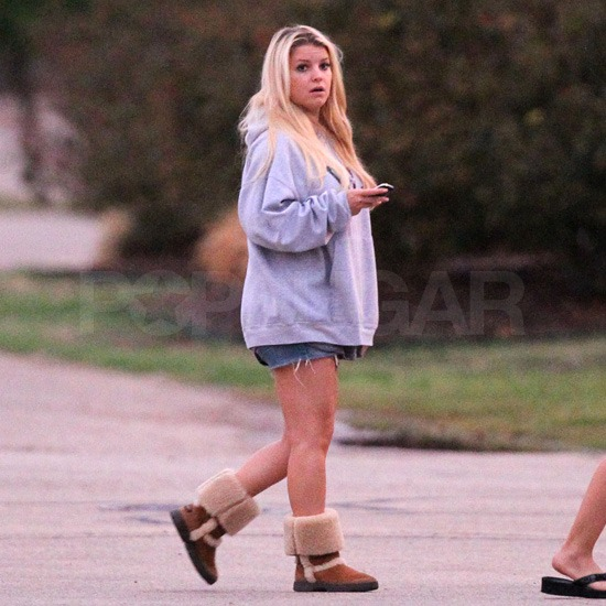 Jessica Simpson Heads Home to Texas For Some R&R