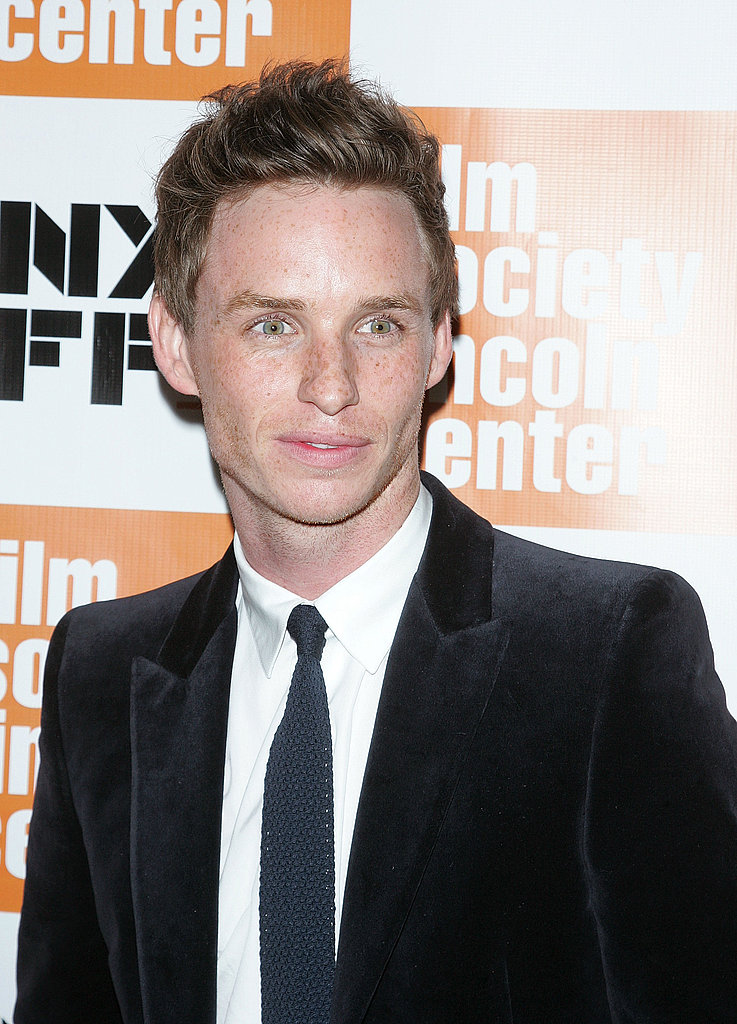 Eddie Redmayne at Alice Tully Hall in NYC.