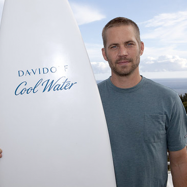 Paul Walker on Davidoff Cool Water