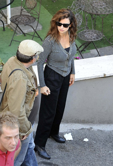 Penelope Cruz Gets to Work in Rome as Javier Bardem's Confirmed For Bond 23!