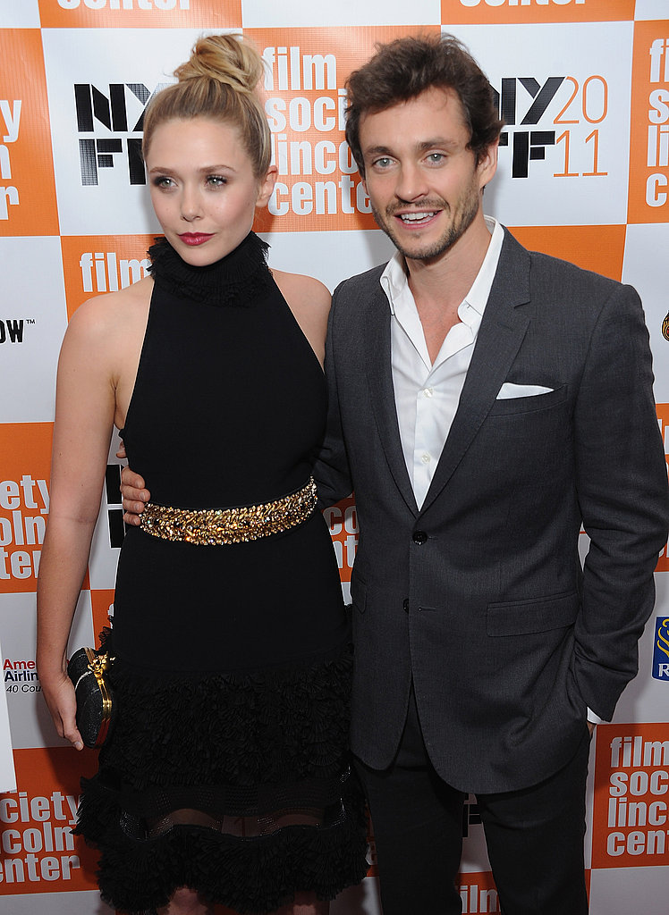Elizabeth and Hugh Dancy posed together.