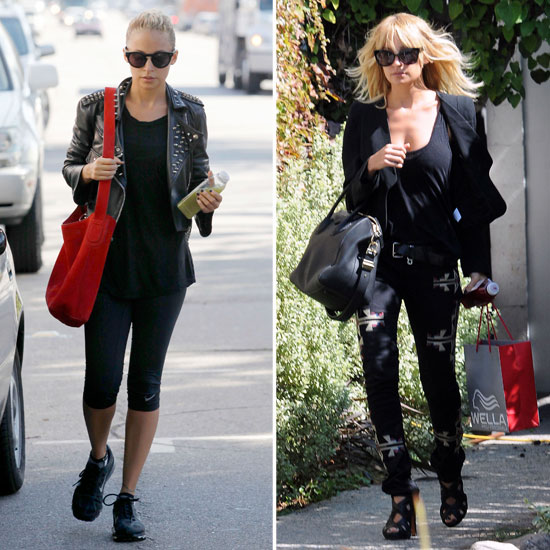 Nicole Richie Returns to LA and Freshens Up Her Blond Locks
