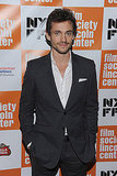Hugh Dancy was without wife Claire Danes.