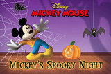 Mickey's Spooky Night Puzzle Book