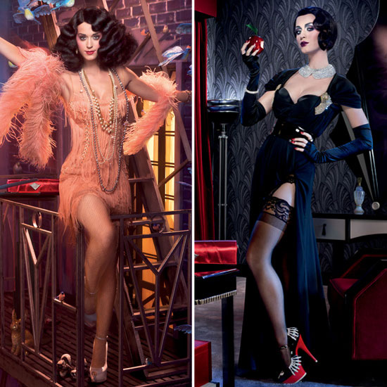 Katy Perry Does Her Best 1920s Snow White in New ghd Ads