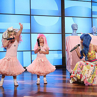 Nicki Minaj Surprises Little Girls on Ellen DeGeneres Show