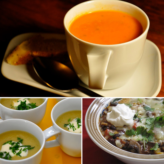 10 Meatless Soups to Start Your Week
