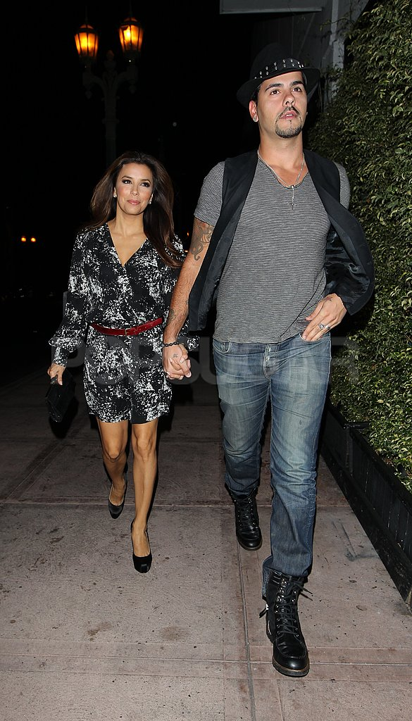 Eva Longoria and Eduardo Cruz had a romantic dinner in LA.