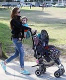 Isla Fisher enjoyed Sydney with daughter Elula Cohen.
