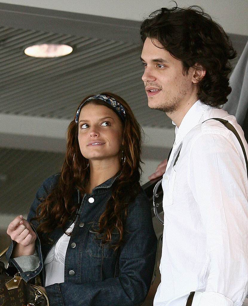 John Mayer traveled to Perth, Australia, in April 2007 with Jessica Simpson.