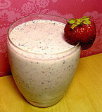 Almond Berry Banana Yogurt Smoothie