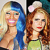 Paloma Faith, Nicki Minaj and Audrina Patridge Two-Toned Hair