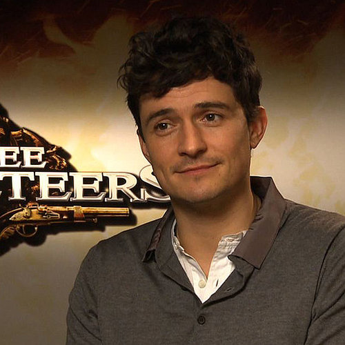 Orlando Bloom Video Interview on The Three Musketeers and Little Flynn