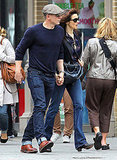 Daniel Craig and Rachel Weisz walked around NYC holding hands.