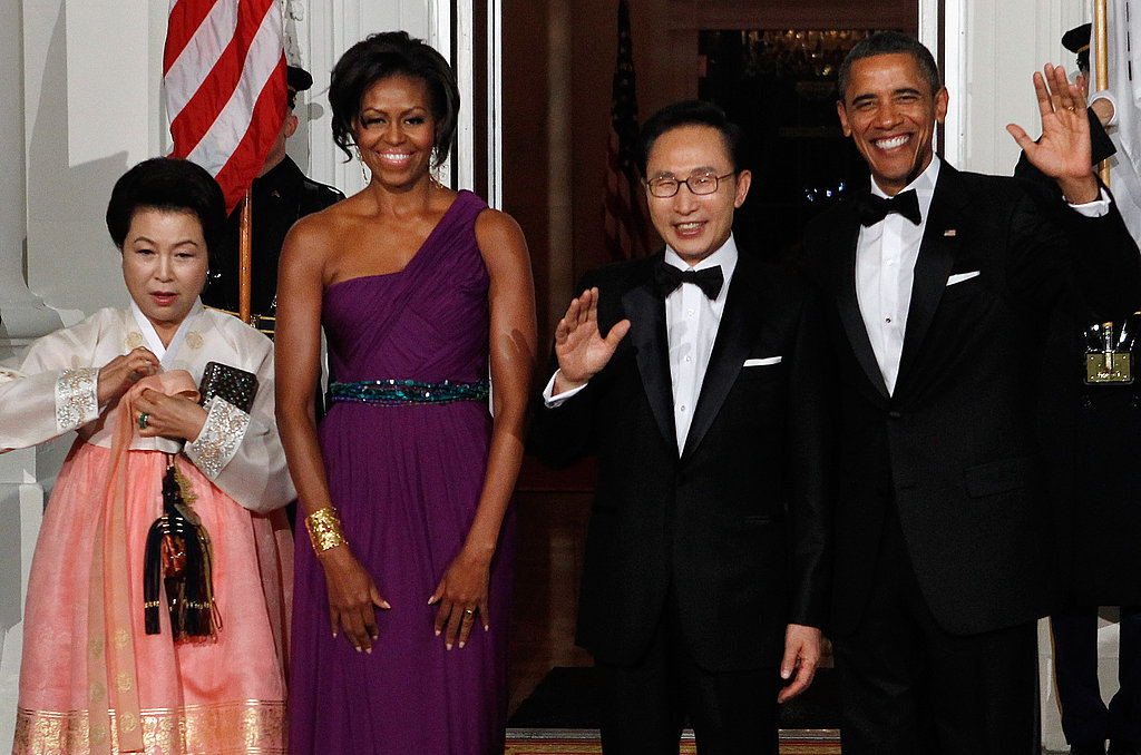 Michelle and Barack Have a State Dinner Date Night