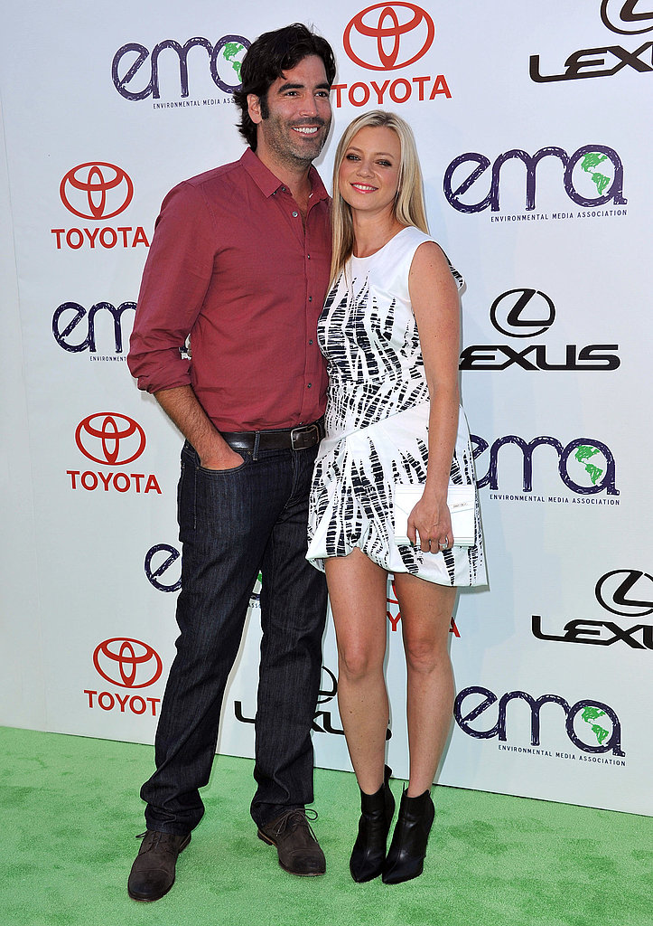 Carter Oosterhouse towered over Amy Smart.