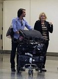 Kate and Ned navigated through SFO.